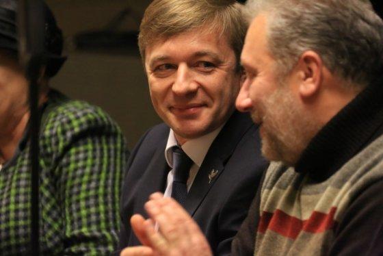 """Žydrūno Budzinausko nuotr./""""Naisių vasaros"""" spaudos konferencija"""
