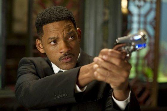 """Willas Smithas filme """"Vyrai juodais drabužiais 3"""""""