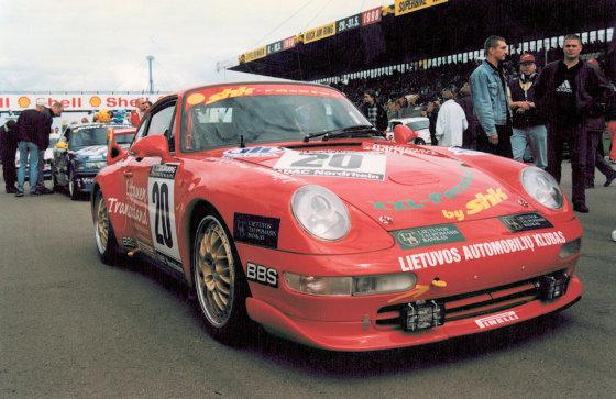 """Asmeninio archyvo nuotr./1998 m. """"Niurburgring"""""""
