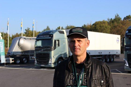 """""""Volvo Trucks"""" nuotr./Lietuvos atstovas Jonas Gudauskas iš UAB """"Gran Taralrud"""" pasauliniame finale užėmė 4-6 vietas"""