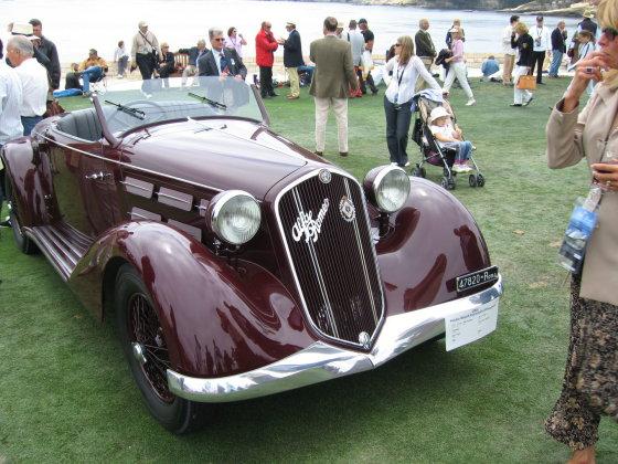 "Wikipedia.org nuotr./""Alfa Romeo 6C 2300"""
