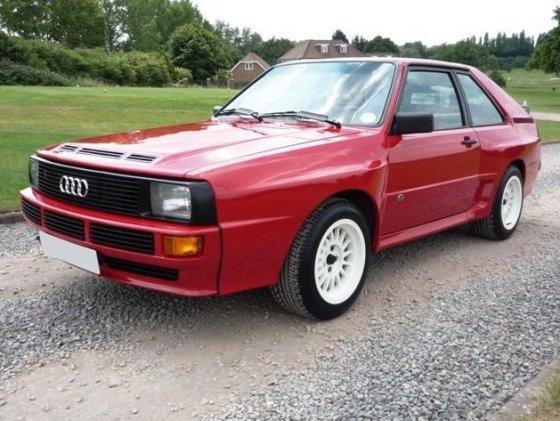 "Mobile.de nuotr./""Audi Quattro Sport SWB"""