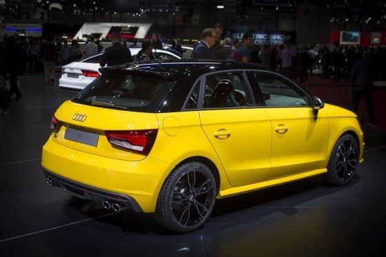 "Irmanto Gelūno/15min.lt nuotr./""Audi S1"" sugrįžta Ženevoje"