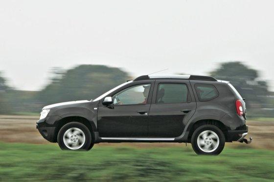 """Auto Bild"" nuotr./""Auto Bild"" bandyme naudotas ""Dacia Duster"""