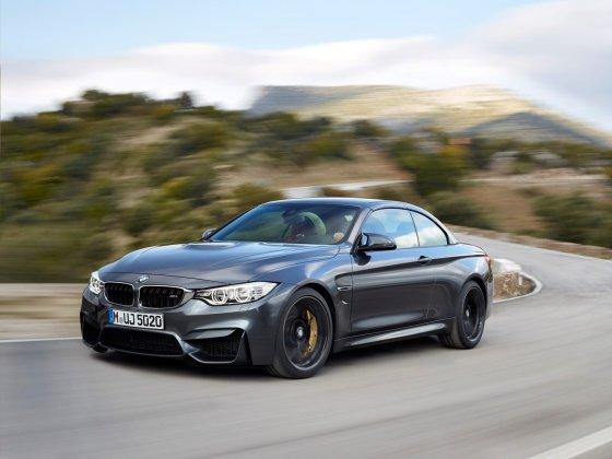 BMW nuotr./BMW M4 kabrioletas