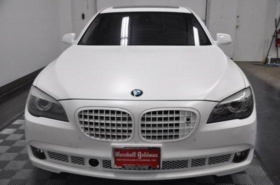 Pardavėjų nuotr./Buvęs LeBrono Jameso BMW 760Li