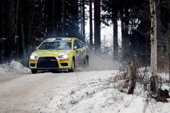 """""""Wellman Rally team"""" nuotr./Europos ralio čempionatas Latvijoje"""