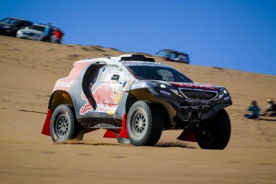 Tomo Tumalovičiaus nuotr./Ketvirtas Dakaro maratono etapas