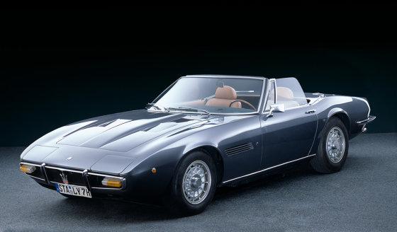 """Maserati Ghibli Spyder"""