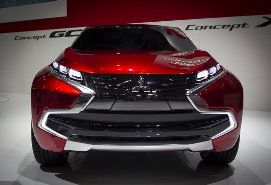 """Irmanto Gelūno/15min.lt nuotr./""""Mitsubishi Concept XR"""" premjera Ženevoje"""