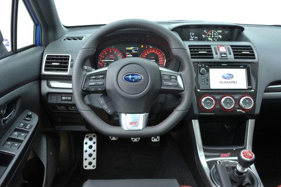 """""""Subaru"""" nuotr./Naujausias """"Subaru WRX STI"""""""