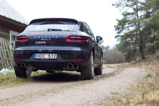 """Irmanto Gelūno/15min.lt nuotr./""""Porsche Macan"""""""