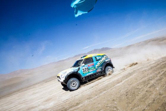 Tomo Tumalovičiaus nuotr./Šeštas Dakaro ralio maratono etapas