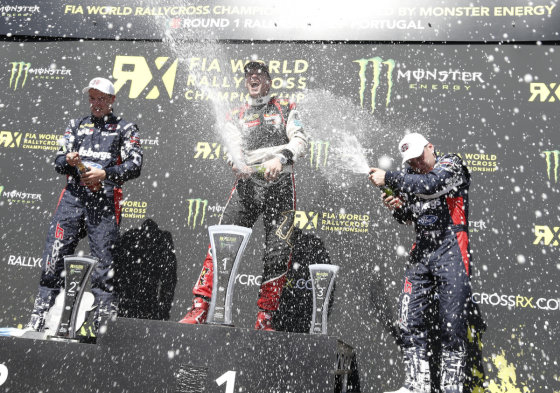 """Monster Energy World RX"" nuotr./""World Rallycross"" čempionato pirmas etapas"