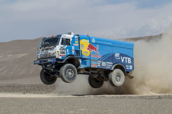 Tomo Tumalovičiaus nuotr./11-as Dakaro ralio etapas