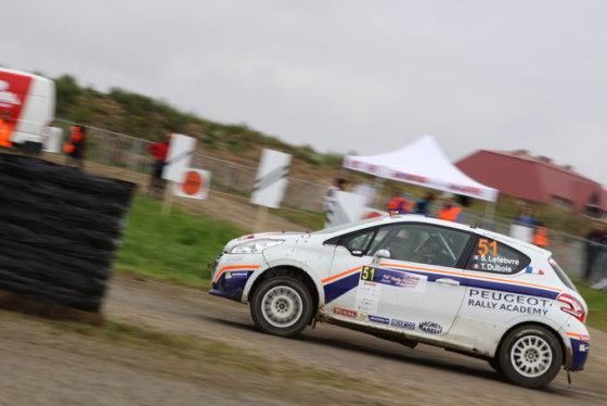 Europos ralio čempionato Lenkijoje bandomasis greičio ruožas