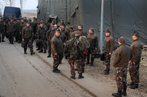 A.Pliadžio nuotr. /Vengrijos kariai Lietuvoje