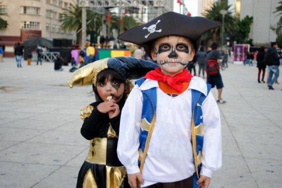 Asmeninio albumo nuotr./Mirusiųjų diena Meksikoje