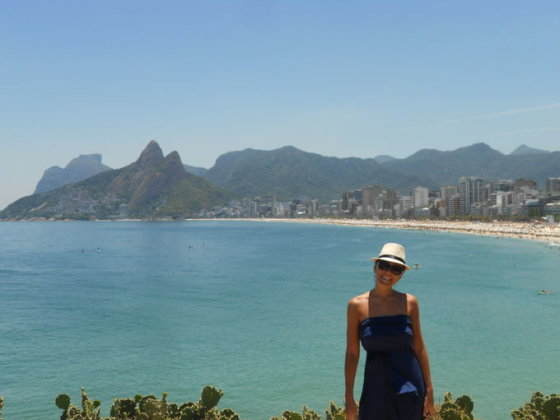 Asmeninio albumo nuotr./Anatolijaus Chudobos ir Agnės Paliokaitės atostogos Brazilijoje