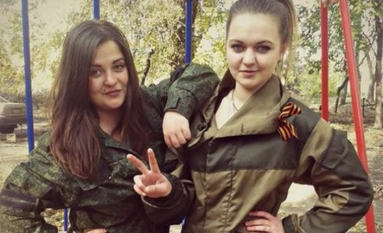 Nuotr. iš socialinių tinklų/Anastasija Vorošilova (kairėje) ir Angelina Sambur