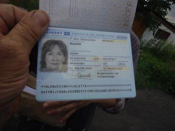 """Nuotr. iš """"Euromaidan""""/""""Boeing 777"""" keleivės pasas"""