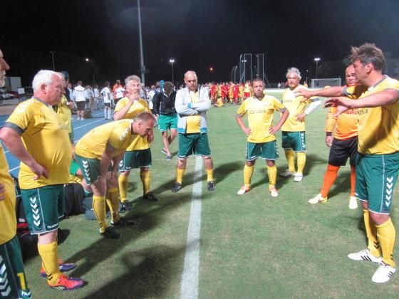 Lietuvos medikų rinktinė dalyvavo Pasaulio medikų futbolo čempionate
