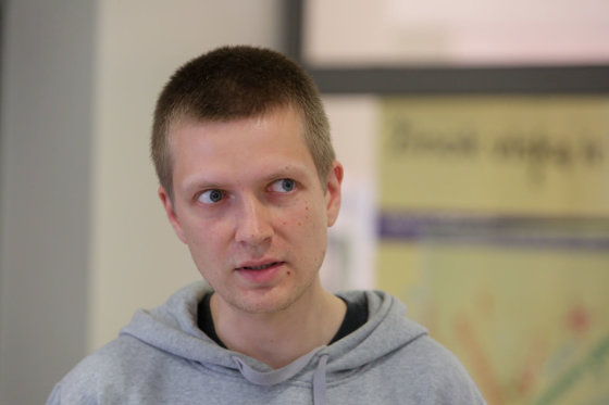 Juliaus Kalinsko/15min.lt nuotr./Simonas (34 m.)