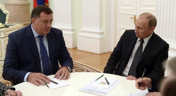 """Scanpix"" nuotr./V.Putinas su M.Dodiku"