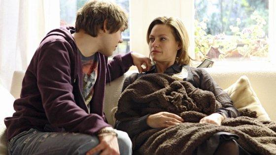 """Kadras iš filmo/""""Keturiasdešimtmetė ieško meilės"""" (""""40+ sucht neue Liebe"""", 2009, IMDb – 5,4)"""