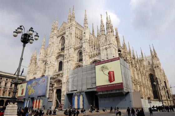 """AFP/""""Scanpix"""" nuotr./Duomo katedra Milane"""