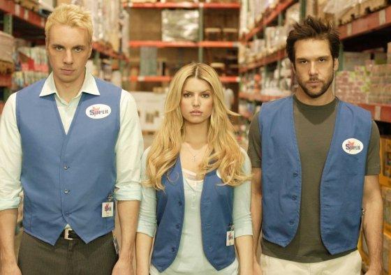"""Kadras iš filmo/""""Mėnesio darbuotojas"""" (""""Employee of the Month"""", 2006)"""