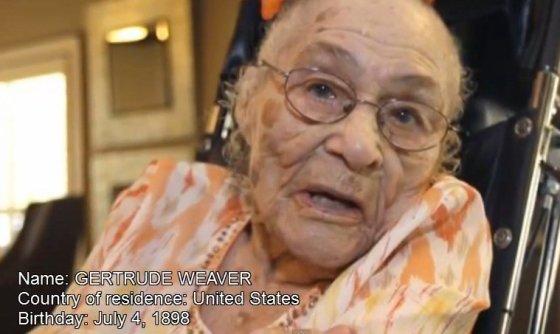 Kadras iš vaizdo įrašo/Gertrude Weaver