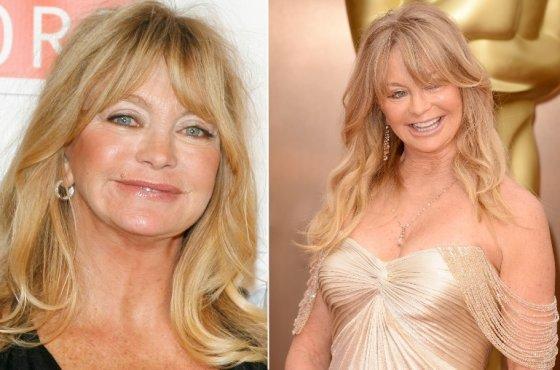 """""""Scanpix""""/wikimedia.org nuotr./Goldie Hawn 2008-aisiais ir dabar"""