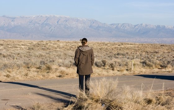 "Kadras iš filmo/""Elos slėnyje"" (""In the Valley of Elah"", 2007, IMDb – 7,2)"