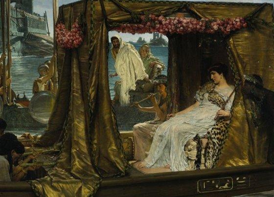 wikimedia.org nuotr./Kleopatra ir Markas Antonijus