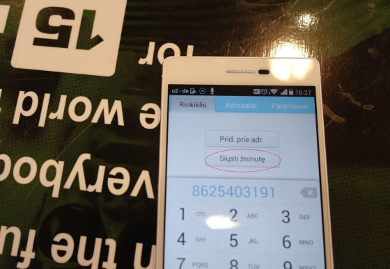 "15min.lt/Jurgitos Lapienytės nuotr./""Huawei Ascend P7"""
