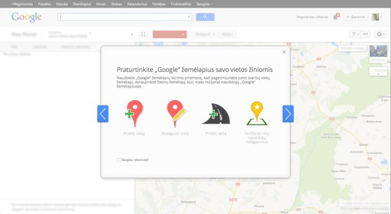 """Google"" nuotr./""Map Maker"""