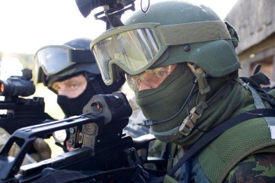 """SOP nuotr./Lietuvoje vyksta specialiųjų operacijų pajėgų pratybos """"Liepsnojantis kalavijas 2014"""""""