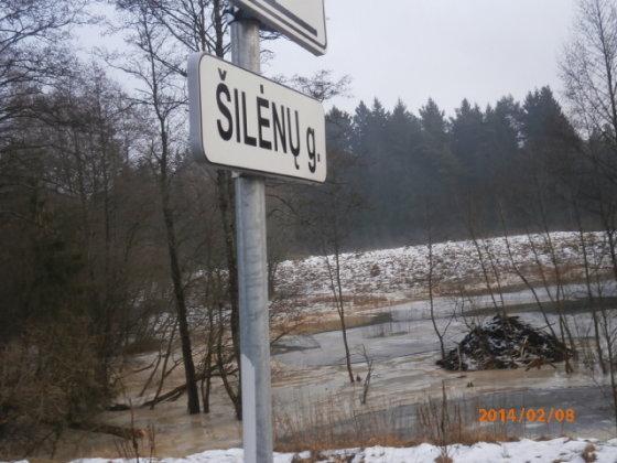 15min.lt skaitytojo nuotr./Užterštas Veržuvos upelis