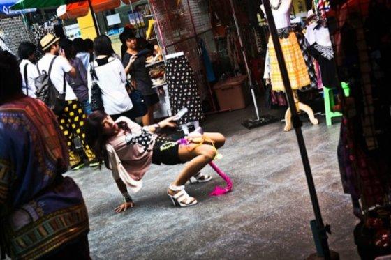 Bertos Tilmantaitės nuotr./Tailande matoma sekso tema
