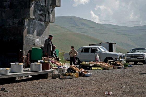 V.Samarinaitės nuotr./Armėnijos pakelėse
