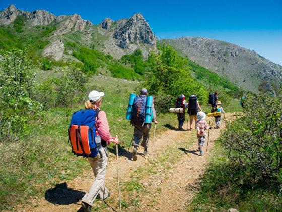 123rf.com nuotr./Žygiai Krymo kalnuose