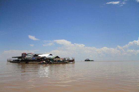 123rf.com nuotr./Ežeras Kambodžoje