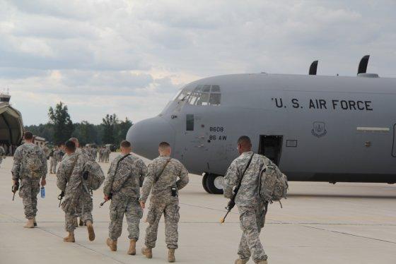 Jolitos Strelkauskienės nuotr./Į Lietuvą atvyko trečioji JAV karių pamaina