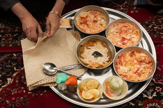 Martyno Mažeikos nuotr./Iranietiška virtuvė