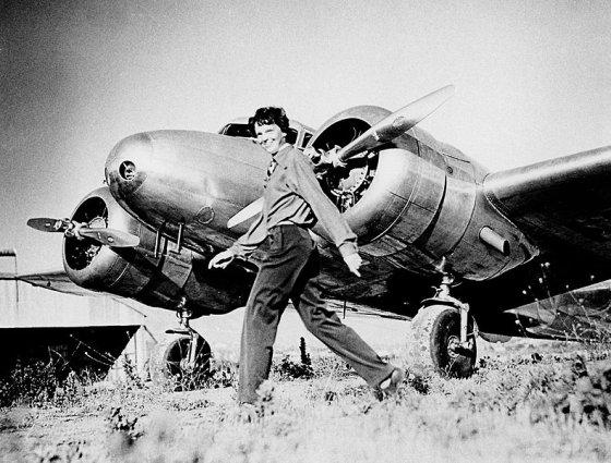 Wikimedia.org/Lakūnė Amelia Earhart