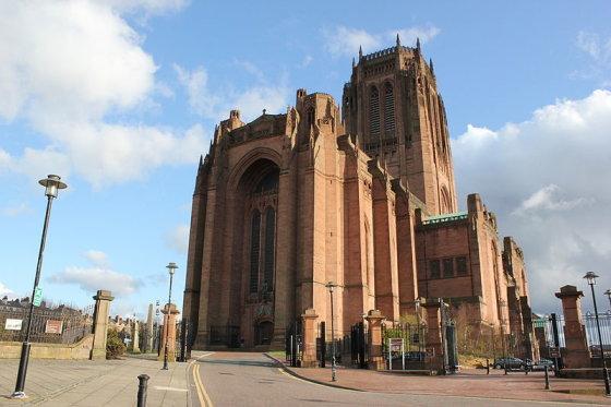Wikimedia.org nuotr./Liverpulio anglikonų katedra