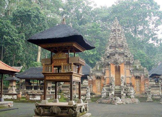wikimedia.org nuotr./Beždžionių šventykla Balyje