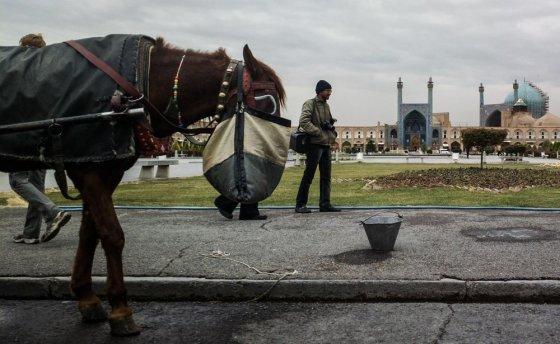 Be Sienų nuotr./Pagrindinė Esfahano vieta