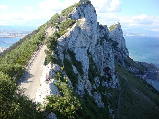 A.Lideikaitės nuotr./Gibraltaro viršukalnė